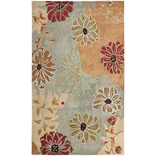 Safavieh Metro Collection MET990A Handmade Multicolored Wool Area Rug (3' x 5') ()