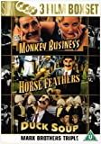 Marx Bros Duck Soup/Monkey Business/Horse Feathers [Import anglais]