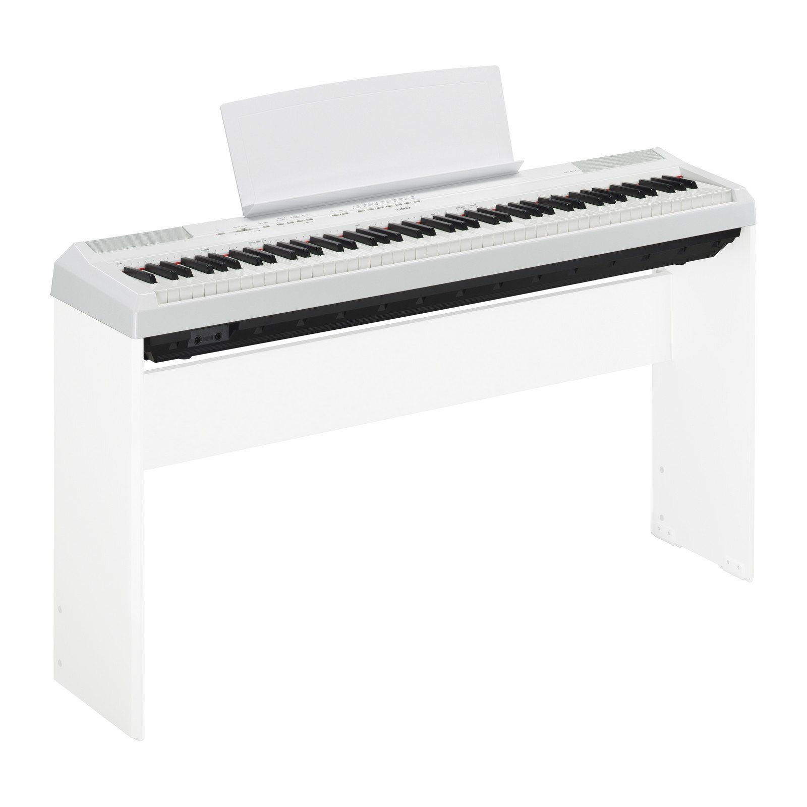 Yamaha P115 88-Key Weighted Action Digital Piano with Sustain Pedal, White by YAMAHA (Image #3)