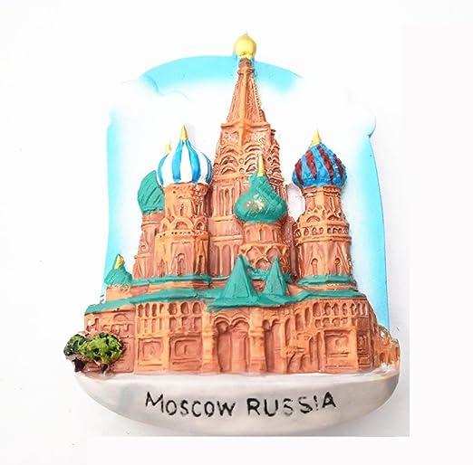UmerBee Famosa Atracciones imanes de nevera Moscú imanes de nevera ...