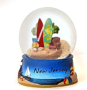 New Jersey Sand Globe Jersey Shore 65mm