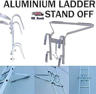 Soporte universal para escalera, soporte para escalera, compatible con todos los Ladeer, ayuda a que tu escalera sea más estable: Amazon.es: Bricolaje y herramientas