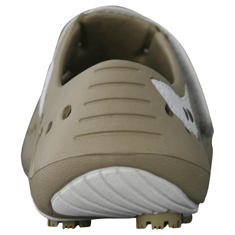 DAWGS Women's Golf Spirit Walking Shoe B0036ZQQVS 8 B(M) US|Tan/White