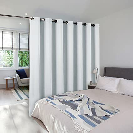 NICETOWN Room Dividers Curtains Screens Partitions Funtion Thermal Blackout  Patio Door Curtain Panel, Sliding Door