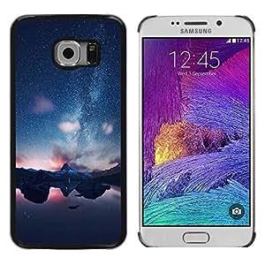 Dragon Case - FOR Samsung Galaxy S6 EDGE - Love is something eternal - Caja protectora de pl??stico duro de la cubierta Dise?¡Ào Slim Fit