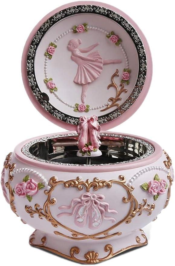 J JHOUSELIFESTYLE Anastasia caja de música, zapatos de ballet ...