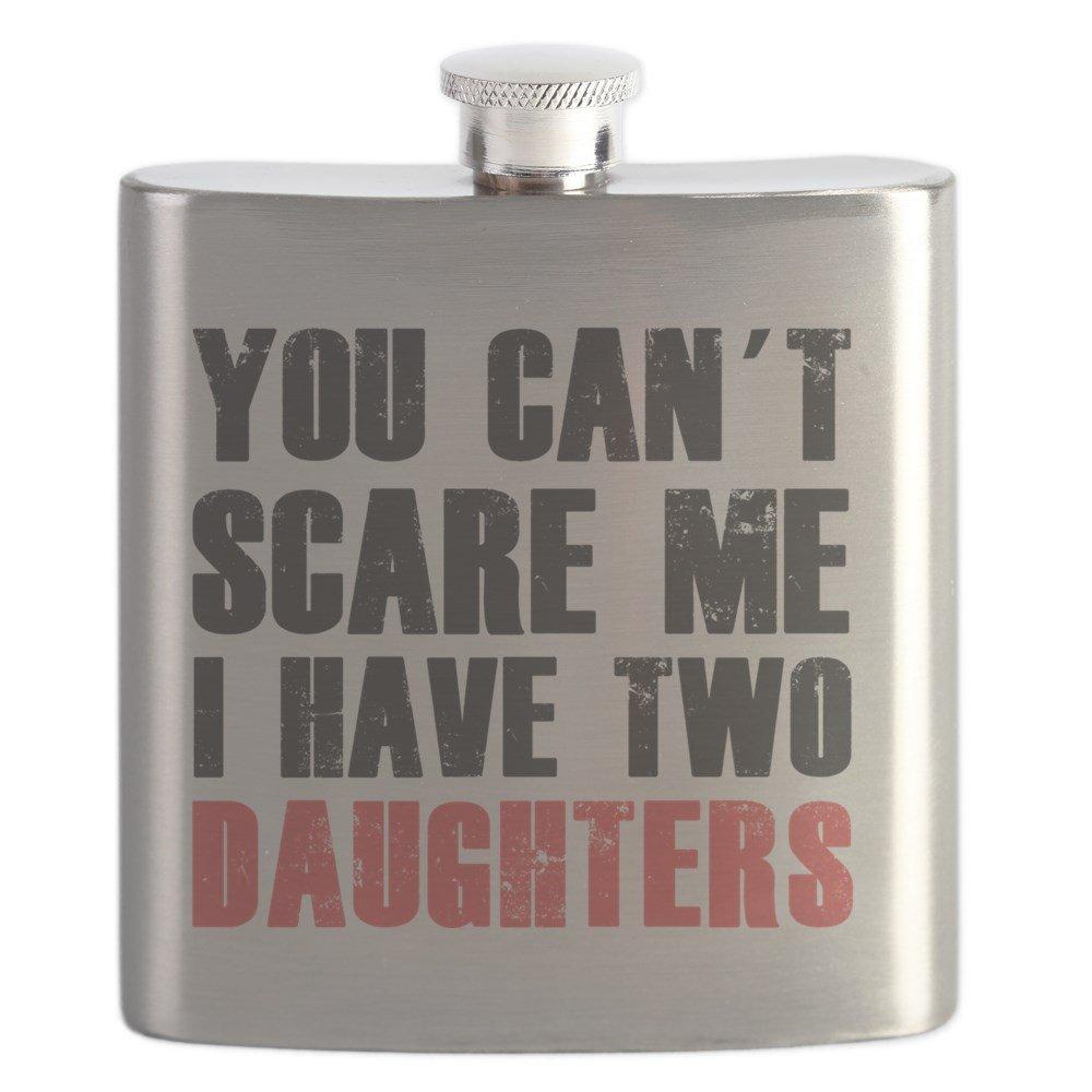 最安値級価格 CafePress – CafePress 私は2つの娘 – ステンレススチールフラスコ – 私は2つの娘、6オンスDrinkingフラスコ B01IUFNJS6, コスメドリーム:562f3834 --- a0267596.xsph.ru