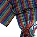 Mexican Reboso accesory Mexican Fiesta Multicolored
