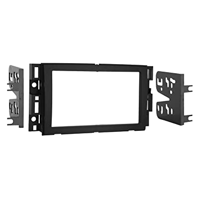 Metra 95-3305 Double DIN Installation Dash Kit for 2006-up Chevrolet Vehicles: Car Electronics