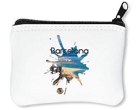 Barcelona Series Theme Viva Espanol Billetera con Cremallera ...
