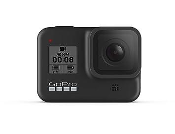 GoPro HERO8 Black - Cámara de acción Digital 4K Resistente al Agua con estabilización hipersuave, Pantalla táctil y Control de Voz: transmisión en ...