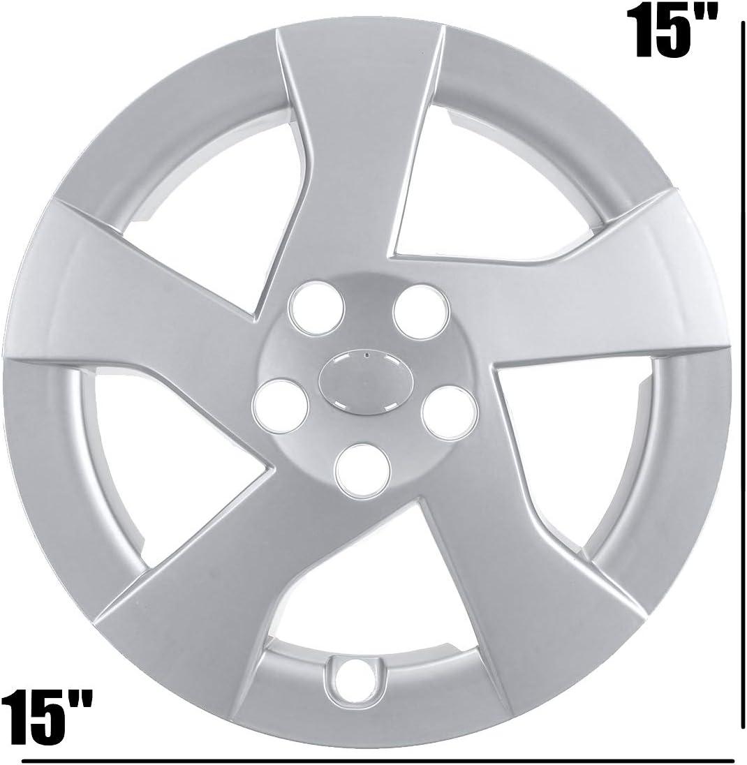 Senmubery 15 inch Car Wheel Cover Hub Cap Replacement for Prius 2010 2011 42602-47110