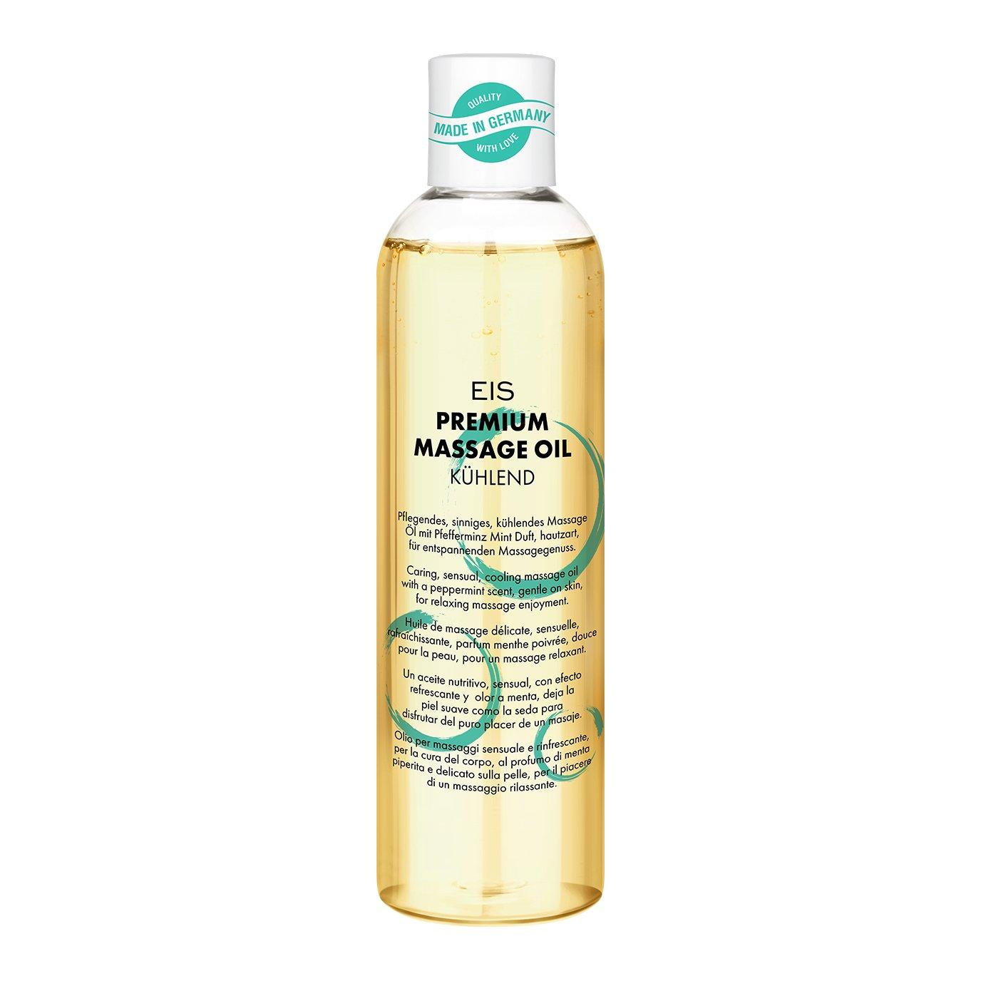 Aceite de masaje cálido prémium de EIS | excitante efecto calor | olor choco | 250 ml: Amazon.es: Salud y cuidado personal