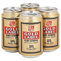 Gold Label Very Strong Special Beer (24 x 330ml Cans)