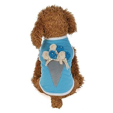 Ropa para Mascotas,Dragon868 Preciosas Camisas de Cono de Helado para Perros Mascota: Amazon.es: Ropa y accesorios