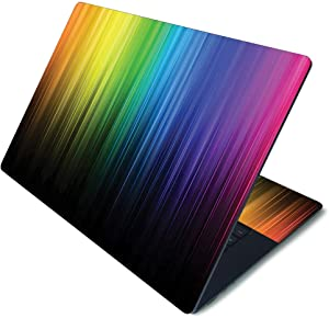 """MightySkins Skin for Microsoft Surface Laptop 3 15"""" - Rainbow Streaks 