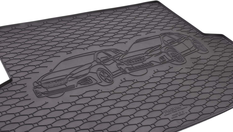 prot/ège-voiture MONTEUR Tapis de coffre et tapis de sol en caoutchouc pour Subaru Impreza /à partir de 2018