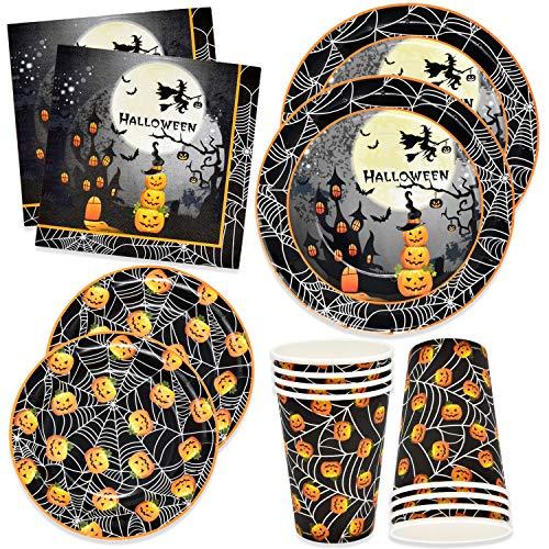Halloween Party Planner (Halloween Party Supplies Set 24 9