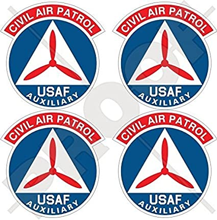 f55a06f73d1 Amazon.com  CIVIL AIR PATROL Emblem CAP Badge US Air Force Auxiliary USAF USA  United States of America. American 2