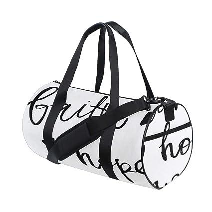 43e54332aa Faith Hope Love Lettering Custom Multi Lightweight Large Yoga Gym Totes  Handbag Travel Canvas Duffel Bags