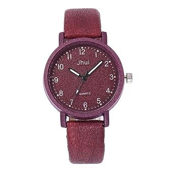 Linowi Reloj Digital, Reloj de Pulsera de Cuarzo Analógico de Acero Regalo Navidad Fiesta para Mujer Chica: Amazon.es: Relojes