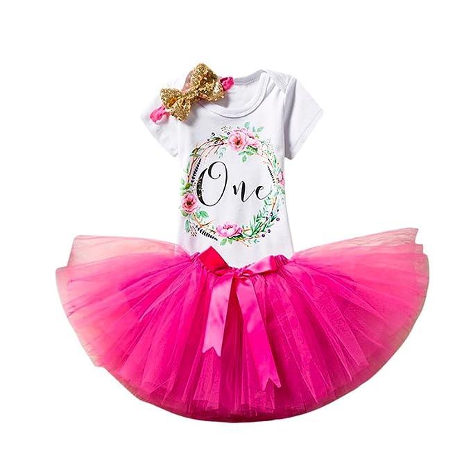 Babykleider Kostüm Baby Mädchen Kleidung Set Kurzarm-Body Baumwolle Strampler