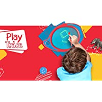 Boogie Board Play and Trace Deluxe Activity Kit - Includes Learning and Activity Templates in a Travel Case - Authentic