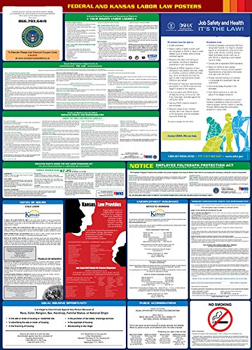 2017 Kansas State and Federal All-in-one Labor Law Poster - English