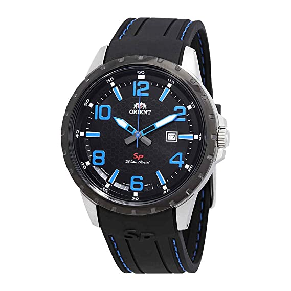 Orient Sport FUNG3006B - Reloj para hombre, esfera negra: Amazon.es: Relojes