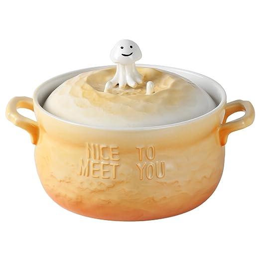 UPSTYLE 29oz microondas horno cerámica sopa cuencos 3d Cute océano ...