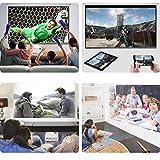 1500 Lumens LCD Mini Projector, Multimedia Home
