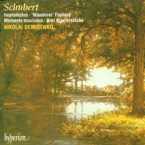 Schubert: Fantasy In 2021 new C Major- Four M Impromptus Six Wanderer New Shipping Free Shipping