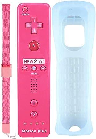 Tanouve Mando para Wii/Wii U,2 en 1 Mando con Motion Plus Mando a ...