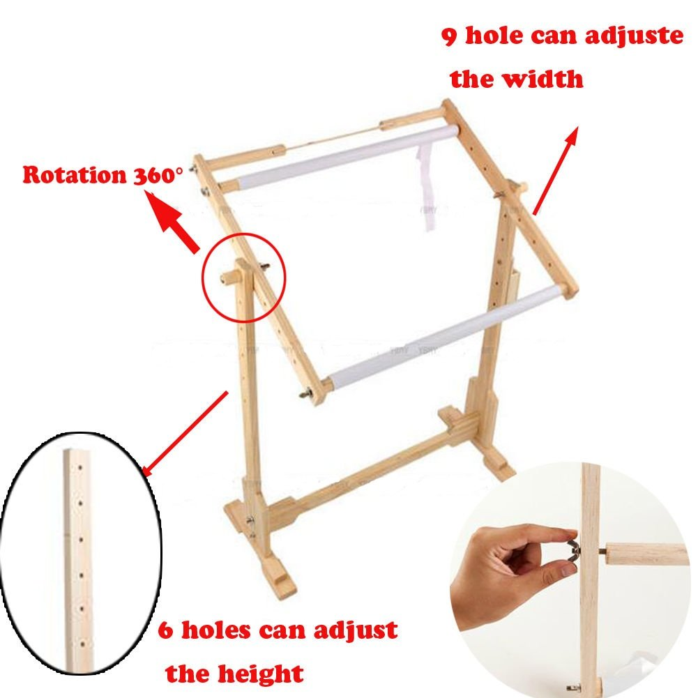 Stickrahmen, Stickerei Rahmen Ständer Kreuzstich-Rahmen Knüpfrahmen ...