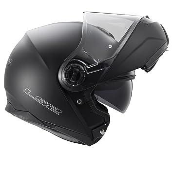 LS2 ff325 último modelo Modular con luz estroboscópica Motor bicicleta ciclo Crash Pin Lock casco doble