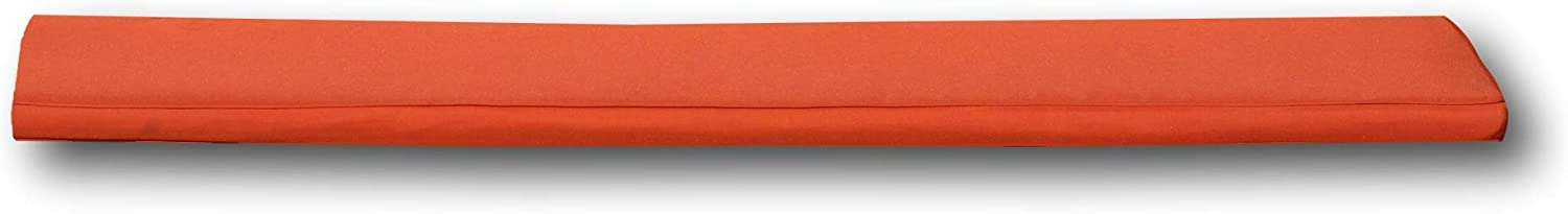 Black 4 Seater Bench Cushion Field /& Hawken Removable Quick Drying Bench Cushion Cover for Easy Care and 180gsm Hard-Wearing Vibrant Colour Fabric Outdoor Bench Cushion 4 Seater with Comfortable 50mm Foam Filling