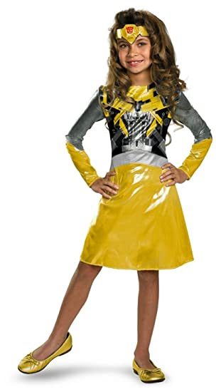 Transformers Bumblebee Girl Costume - Toddler - Toddler  sc 1 st  Amazon.com & Amazon.com: Transformers Bumblebee Girl Costume - Toddler - Toddler ...