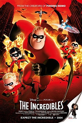 """The Incredibles - (24"""" X 36"""") Movie Poster"""
