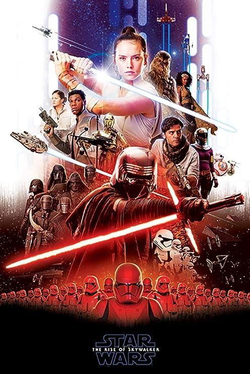 Star Wars IX Rise Of The Skywalker Movie Film Poster 24 x 36 16 x 24