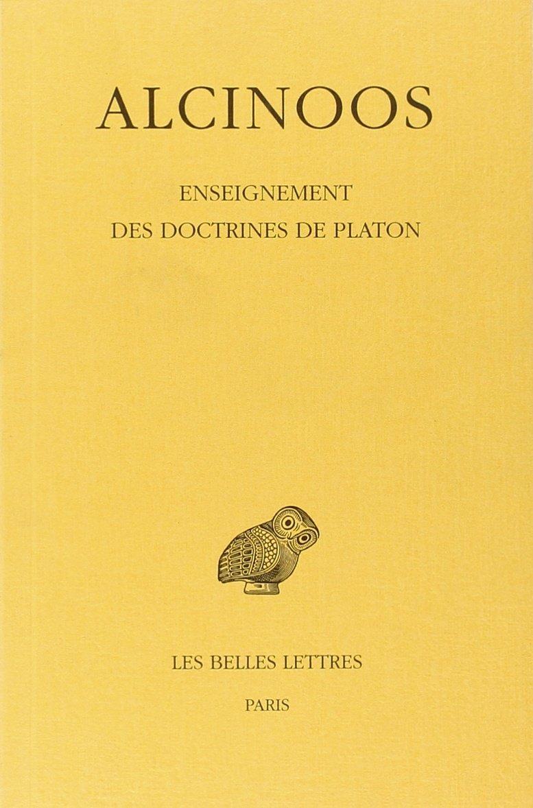 Enseignement des doctrines de Platon
