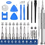 EasyTime Repair Tool Kit for PS4, Nintendo, Xbox one, 24 IN 1 Triwing Screwdriver kit, T6 T8 T9 T10 Torx Gamebit…
