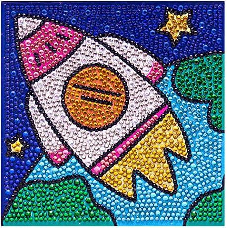 Coxeer ダイヤモンド塗装キットクリエイティブラインストーンアートキットフレーム付きDIYフルドリルキット