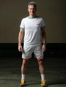 NOX Camiseta Padel Blanca: Amazon.es: Deportes y aire libre