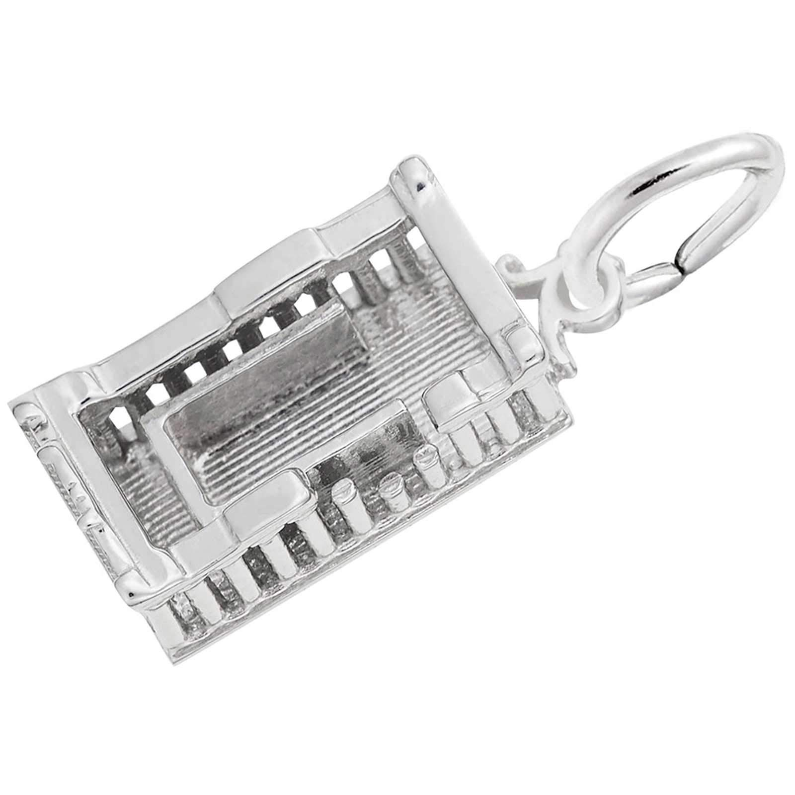 Rembrandt Charms Parthenon Charm, Sterling Silver by Rembrandt Charms