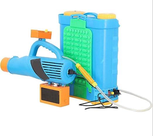 XGHW Pulverizador de jardín Máquina de neblina Bomba de Aire Potente agrícola Pulverizador eléctrico Desmalezado multifunción Limpieza Sanitaria Herramientas de jardinería: Amazon.es: Hogar