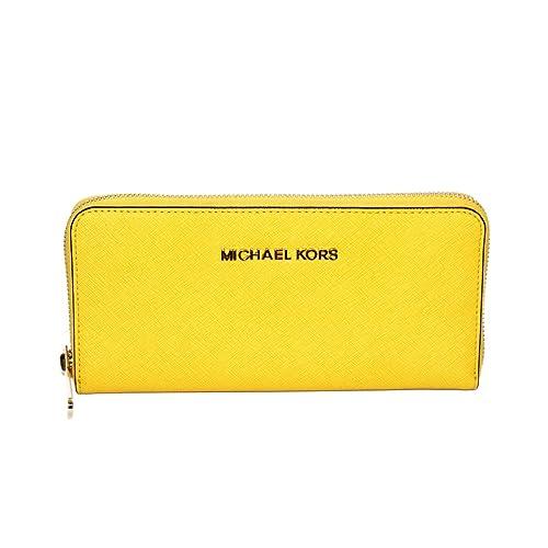 michael kors jet set travel continental genuine leather wallet rh amazon com