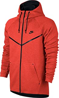 Nike M NSW TCH PCK Hoodie FZ Knit Sweatshirt, Hombre, Light BoneSailBlack, L