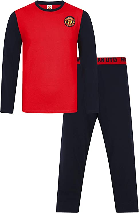 The Pyjama Factory - Pijama largo para hombre, pijama oficial del club de fútbol Manchester City