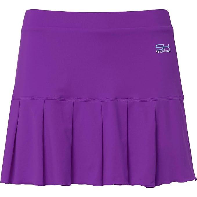 Falda de tenis de marca de color