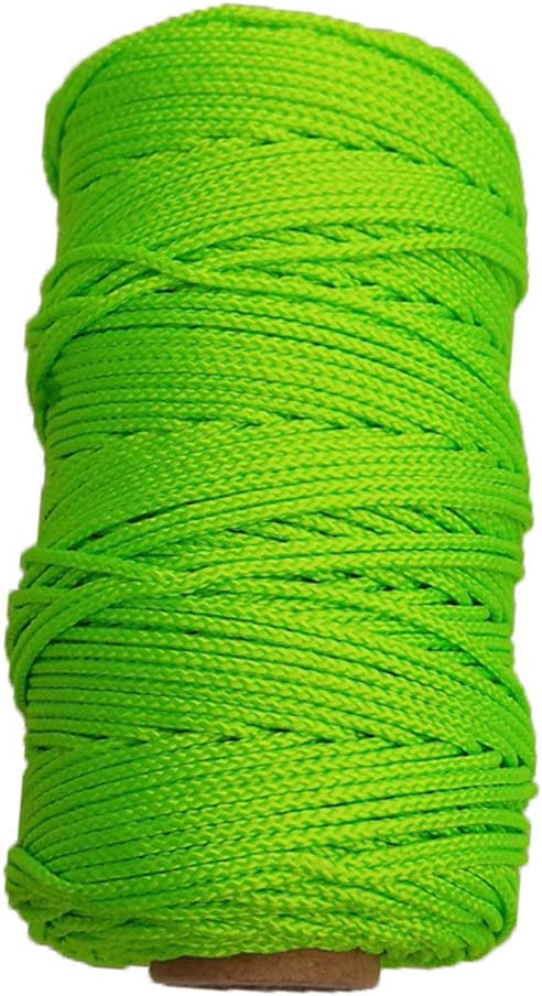 Multi Purpose High Visible and High Performance Polyester Cord Rope for Underwater Activities CUTICATE Scuba Diving Reel Line Various Sizes